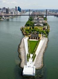 FDR Four Freedoms Park by Louis Kahn