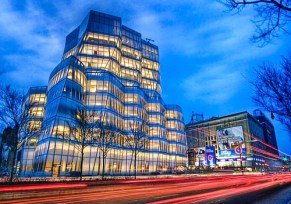 IAC by Frank Gehry