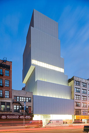 New Museum by SANAA