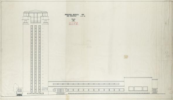 Boekentoren Gent | Original plan