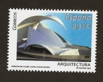 Stamp Auditorio de Tenerife