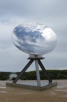 Sky Mirror | Anish Kapoor @ Parterre d'eau Versailles