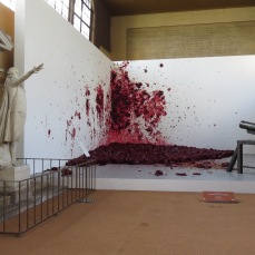 Shooting into the Corner | Anish Kapoor @ Royal Tennis Court Versailles